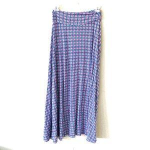 Stitch Fix Market & Spruce Geo Print Maxi Skirt